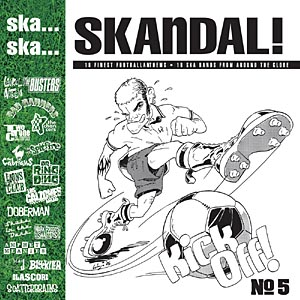 Pork Pie Ska... Ska... Skandal No. 5 Football CD CD