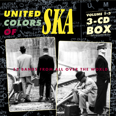 Pork Pie United Colors Of Ska Vol. 1-3 CD-Box CD