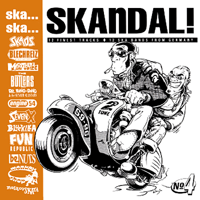 Pork Pie Ska... Ska... Skandal No. 4 CD