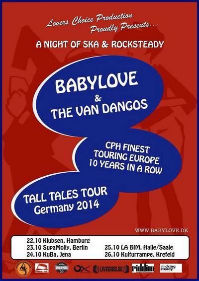 Babylove & The Van Dangos wieder auf Tour!