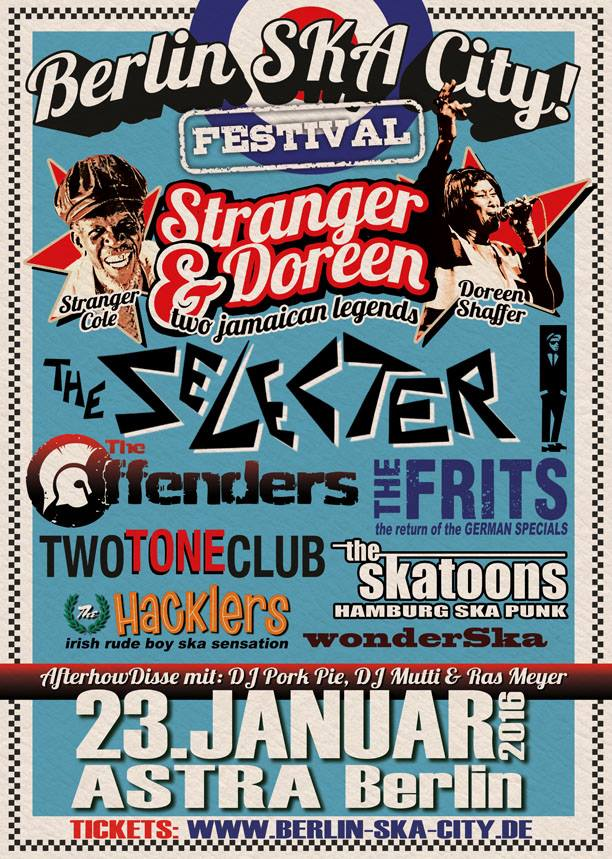 Berlin SKA City 2016 - 2Tone galore 23rd jan 2016
