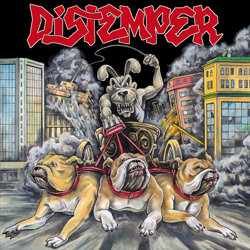 DISTEMPER on tour again in october 2014 !