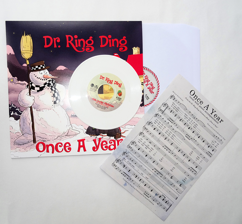 Dr. Ring Ding - Once A Year LP + Bonus 7""