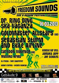 Dr. Ring Ding Ska-Vaganza on tour in march 2013