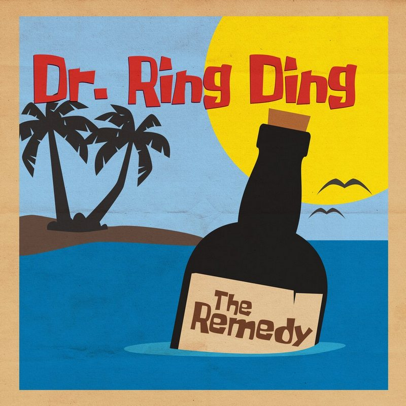 Dr Ring Ding THE REMEDY new album from 21st august 2020