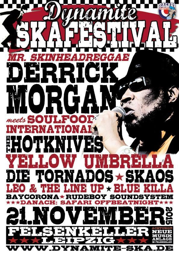 Dynamite SKA Festival 2015 am 21. November