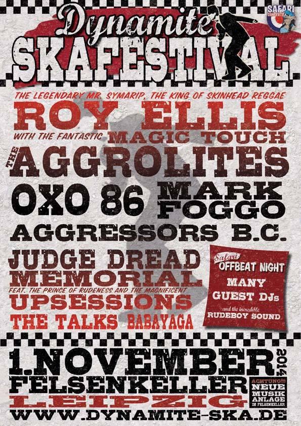 DYNAMITE SKA FESTIVAL am 1. November 2014