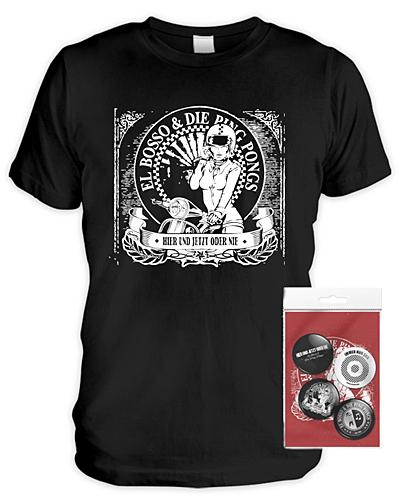 El Bosso - Verlosung: jetzt Shirt + Buttonset zum neuen Album gewinnen