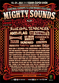 Mighty Sounds 2013 with a fairly good  portion of ska