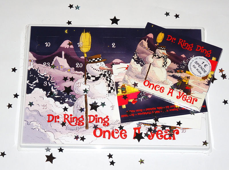 Pork Pie Dr. Ring Ding - Once A Year advent calendar package CD Dr. Ring Ding - Once A Year advent calendar package