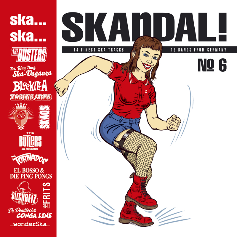 Pork Pie Ska... Ska... Skandal No. 6 limited Edition LP