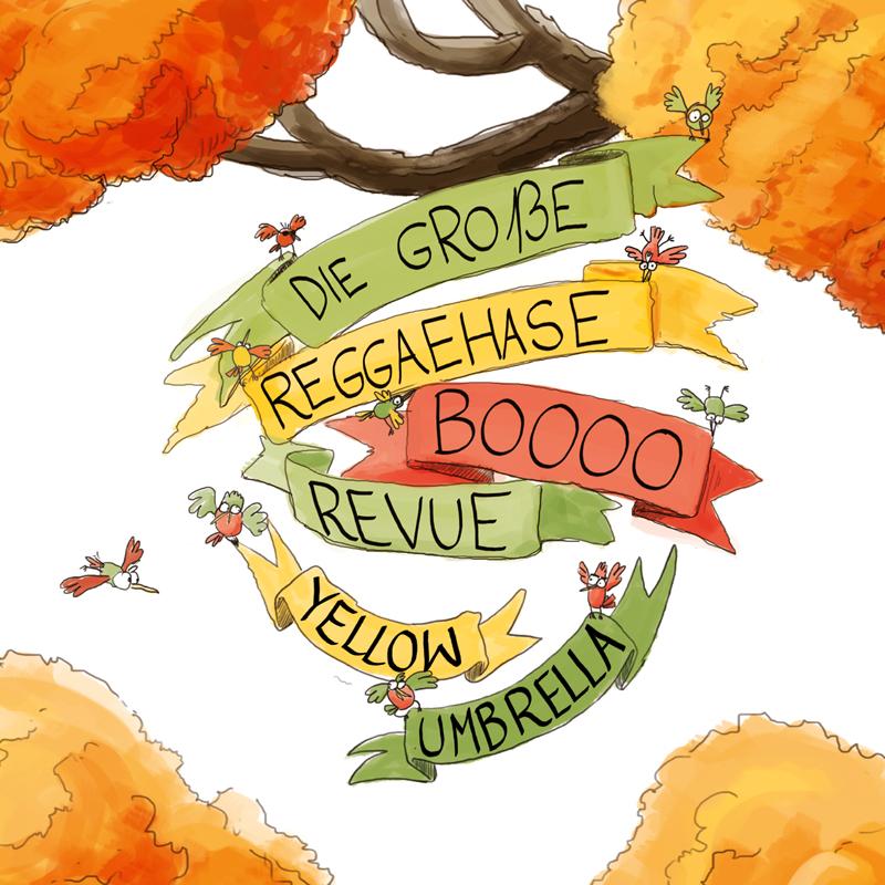 Pork Pie Yellow Umbrella - Die große Reggaehase Boooo Revue CD