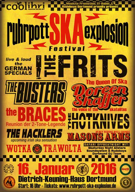 RUHRPOTT SKA EXPLOSION 2016 - Record Release THE FRITS