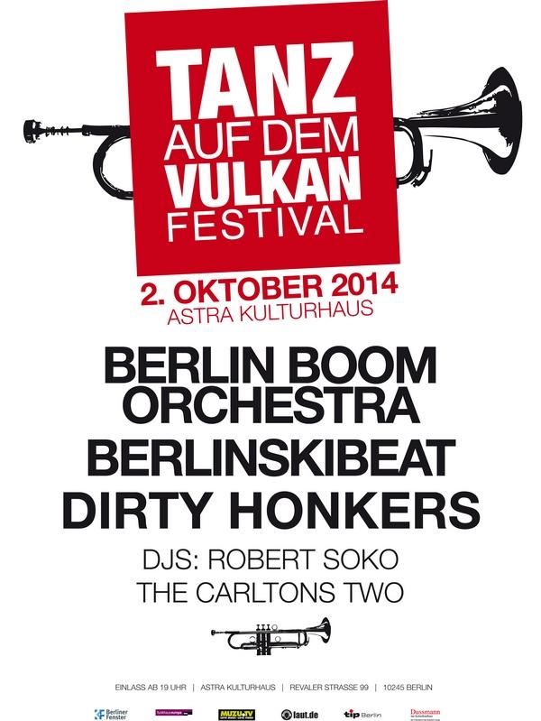 TANZ AUF DEM VULKAN - Party mit Berlin Boom Orchestra