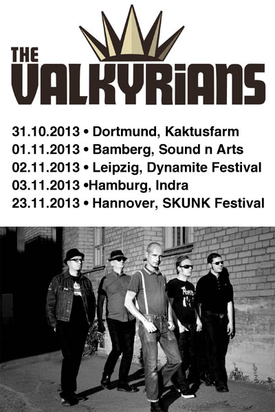 The Valkyrians on tour again !