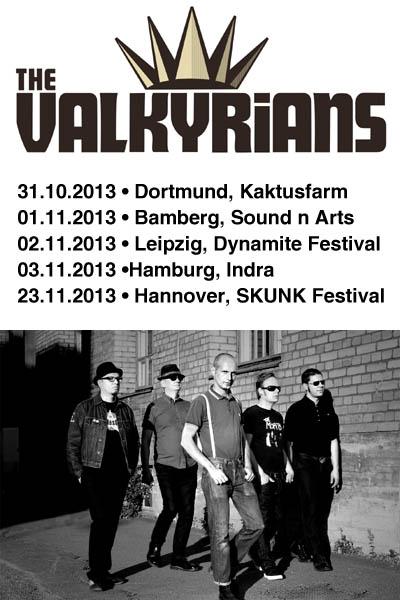 The Valkyrians wieder auf Tour !