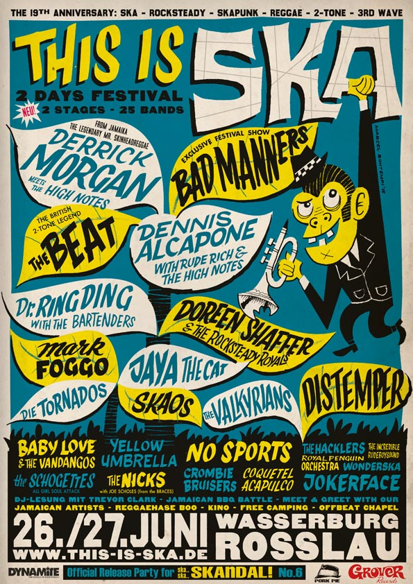 THIS IS SKA 2015 - the line up is perfect!