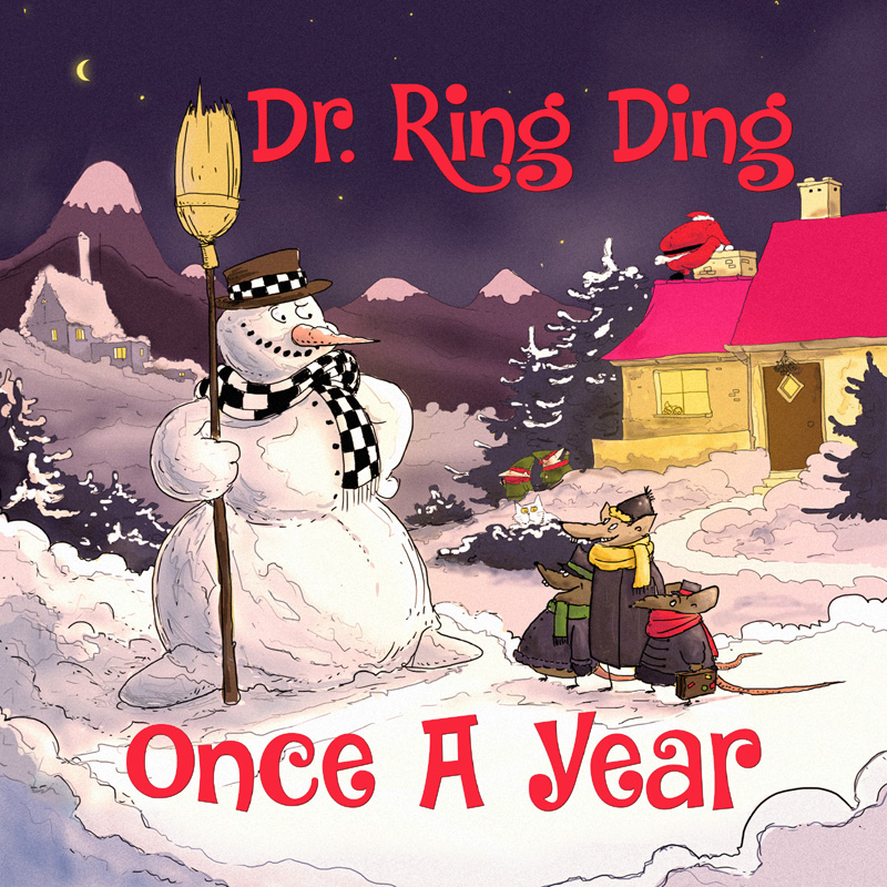 Weihnachtsalbum von Dr. Ring Ding - Once A Year ! Weihnachtsalbum von Dr. Ring Ding - Once A Year !