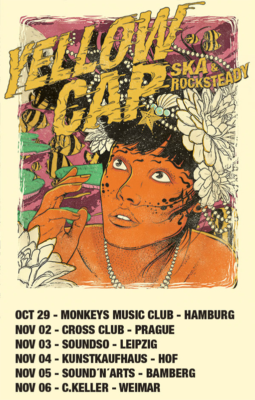 Yellow Cap - Around The World auf Tour
