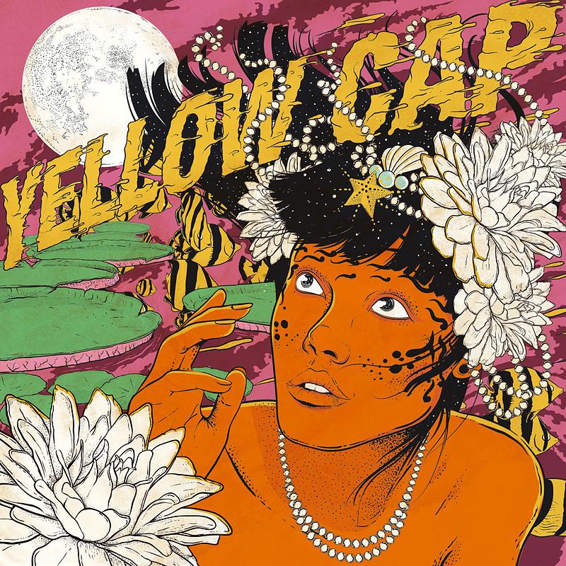 Yellow Cap - neue Vinylsingle AROUND THE WORLD