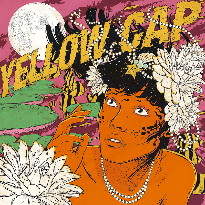 Yellow Cap - new vinyl single AROUND THE WORLD